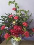 Perfect Jeep Flower Arrangement