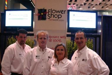Flower Shop Network staff attending the 2007 Northeast Floral Expo