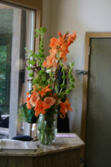 Fresh Flower Table Arrangement