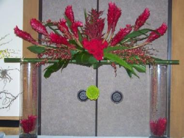 Unique Flower Arrangment With Ginger