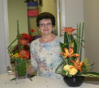 Regina Berryman, AIFD AAF and Her Equisetum Arrangements
