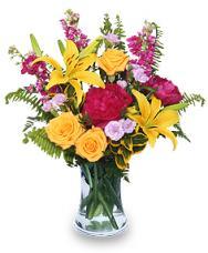 Flores Brillantes Para El Dia De Las Madres