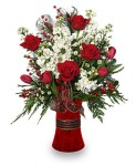 """""""Holiday Happiness"""" Christmas Bouquet"""