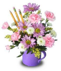 Show Appreciation With A Mug Bouquet of Flowers!