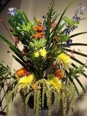 Flemish Style Flower Arrangement