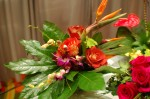 Recycled Flower Arrangement