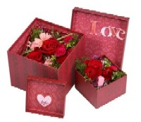"""Box of Love"" from Oasis Floral Products"