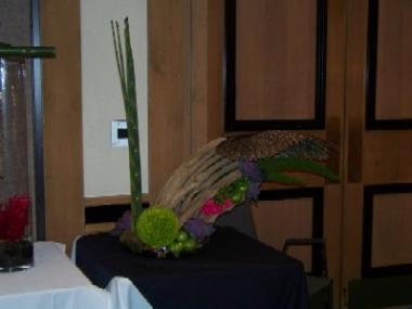 Flower Arrangment From Texas Florists Convention