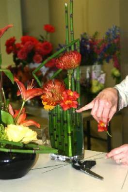Regina Creating An Equisetum (Horsetail) Arrangement