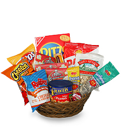 Bosses Day Salty Gift Basket