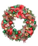 Flower Shop Network Festive Holiday Wreath