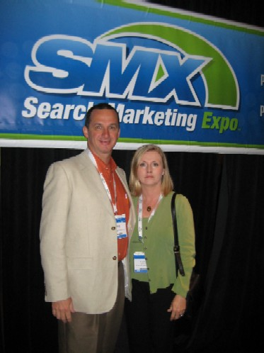 Brock and Loranne of FlowerShopNetwork At SMX Advanced