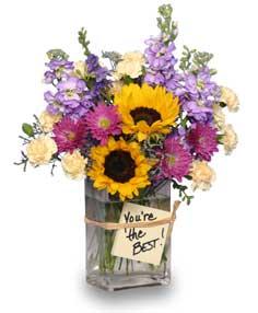 Bosses Day Flower Arrangement