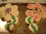 Jamie's Flower Shaped Cupcake Birthday Cakes