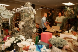 Floral Designers in the Back Room