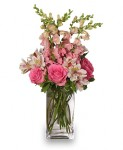 """Think Pink"" Flowers for Breast Cancer Awareness Month"