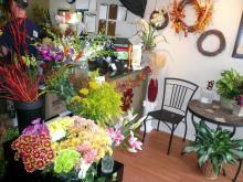 Inside Bay Bouquet Floral Studio