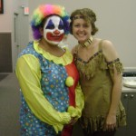 Clowning Around With The Indians