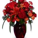 Ruby Red Regalia Bouquet