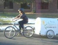 Boulder Blooms' Flower Delivery Bicycle