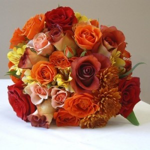 flowers for autumn wedding