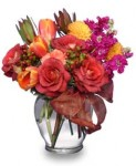 """Fall Flirtations"" July Anniversary Flowers"