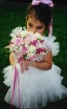 Flower Girl Bouquet by FloraBella Designs