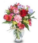 """Flower Garden"" Arrangement with Alstroemeria"