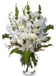 """Peaceful Comfort"" Sympathy Flowers"