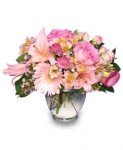 """""""Delicate Affection"""" Anniversary Flowers"""