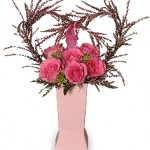 """You Have My Heart"" Romantic Bouquet"