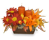 Gratitude With Fall Flowers