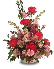 Tickle Me Pink Carnations Arrangement.jpg