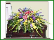 Casket Spray Funeral Arrangement