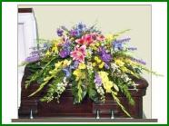 Casket Spray Funeral Arrangement