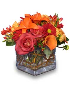 5 Flower Arrangements Perfect For Thanksgiving Including