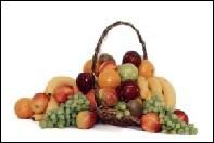 Christmas Gift Basket with Fruit