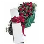 Christmas gift of roses & a love poem