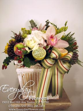 Christmas Flower Arrangements.Christmas Flower Arrangements Enjoyed By A Flower Stalker