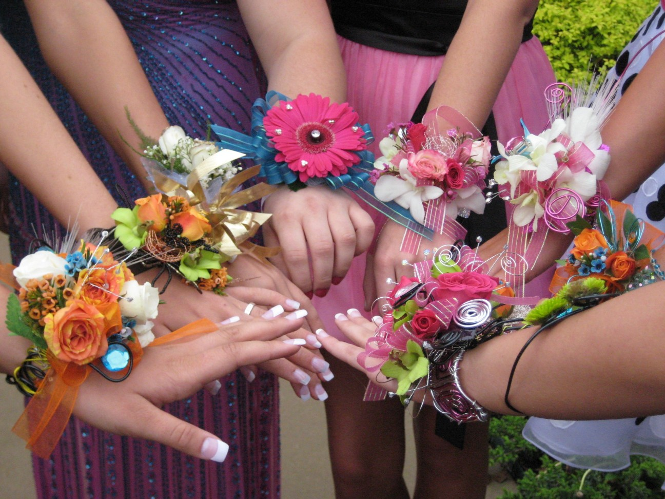 Florists can blossom during prom season prom wrist corsages izmirmasajfo