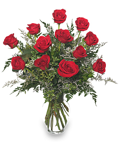 The Classic Dozen Red Roses For Valentines
