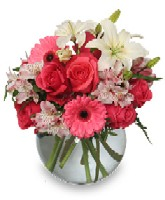 """Floral Attraction"" Bouquet for Valentines Day"