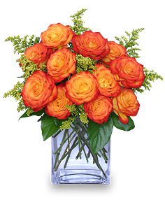 Rustic Roses For Fall Romance