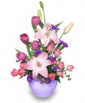 """""""Lavender Love"""" Mothers Day Bouquet"""