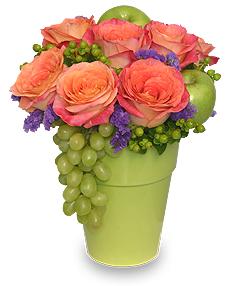 Fruit & Flower Arrangement