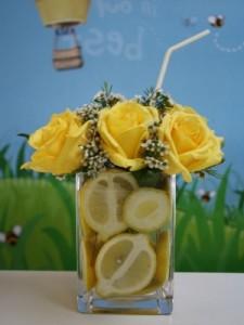 Lemons & Flowers From Belvedere Flowers
