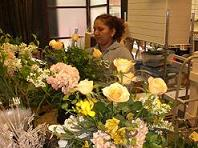 Prepping Flowers At Monday Morning Flowers