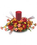 """Autumn Illuminations"" Fall Centerpiece"