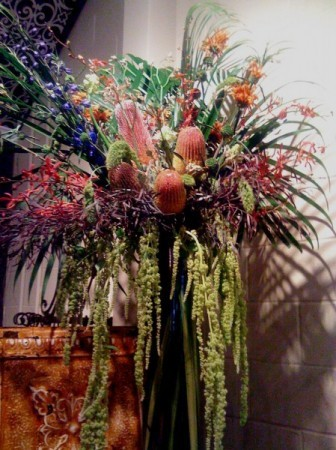 Flemish Style Inspired Flower Arrangement