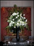 Tall Victorian Flower Arrangement